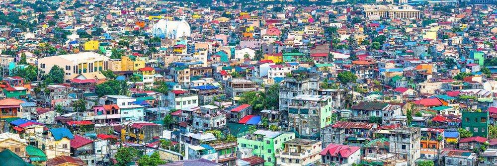 Colourful Concrete Jungle   Taguig, Metro Manila, Philippines