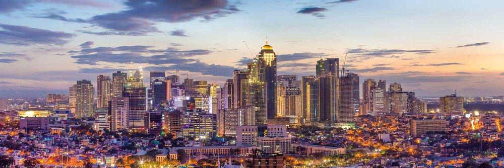 Bonifacio Global City (BGC) from Ortigas   Metro Manila, Philippines