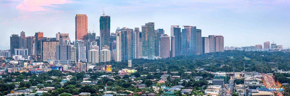 Bonifacio Global City (BGC) from Makati   Metro Manila, Philippines