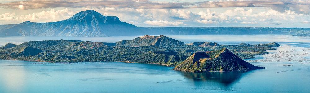 Taal Lake and Volcano   Batangas, Philippines