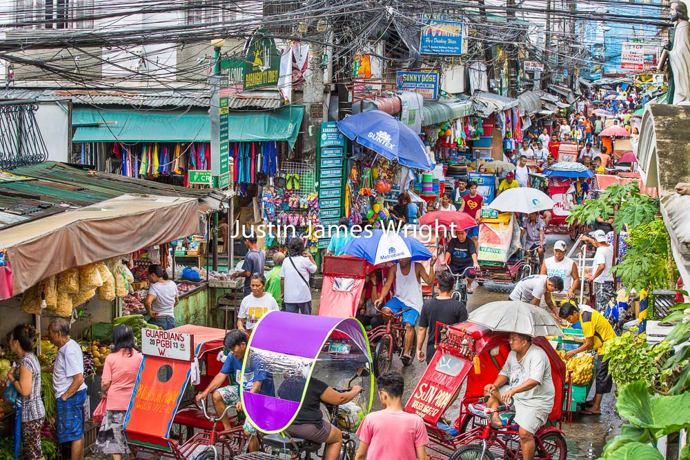 Street Scene, Malibay, Pasay City, Metro Manila, Philippines   Philippine Image # 4015  If you wish to purchase a photography print of this image, or would like to license this image please contact us using the form below.  Please kindly include the Image Title and Image Ref # in your message, we will get back to you.