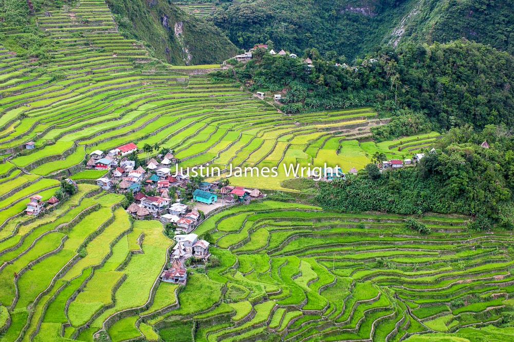 Batad Rice Terraces, Banaue, Ifugao, Philippines.   A Unesco World Heritage Site  Philippine Image # 4028  If you wish to purchase a photography print of this image, or would like to license this image please contact us using the form below.  Please kindly include the Image Title and Image Ref # in your message, we will get back to you.