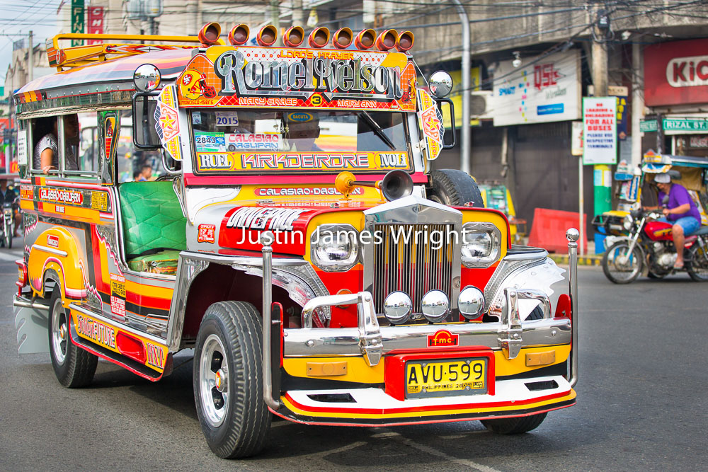 Passenger Jeepney, Dagupan City, Pangasinan, Philippines   Philippine Image # 4118  If you wish to purchase a photography print of this image, or would like to license this image please contact us using the form below.  Please kindly include the Image Title and Image Ref # in your message, we will get back to you.