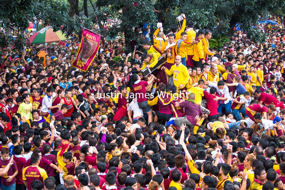The Feast of the Black Nazarene, Manila, Philippines   Philippine Image # 4130  If you wish to purchase a photography print of this image, or would like to license this image please contact us using the form below.  Please kindly include the Image Title and Image Ref # in your message, we will get back to you.