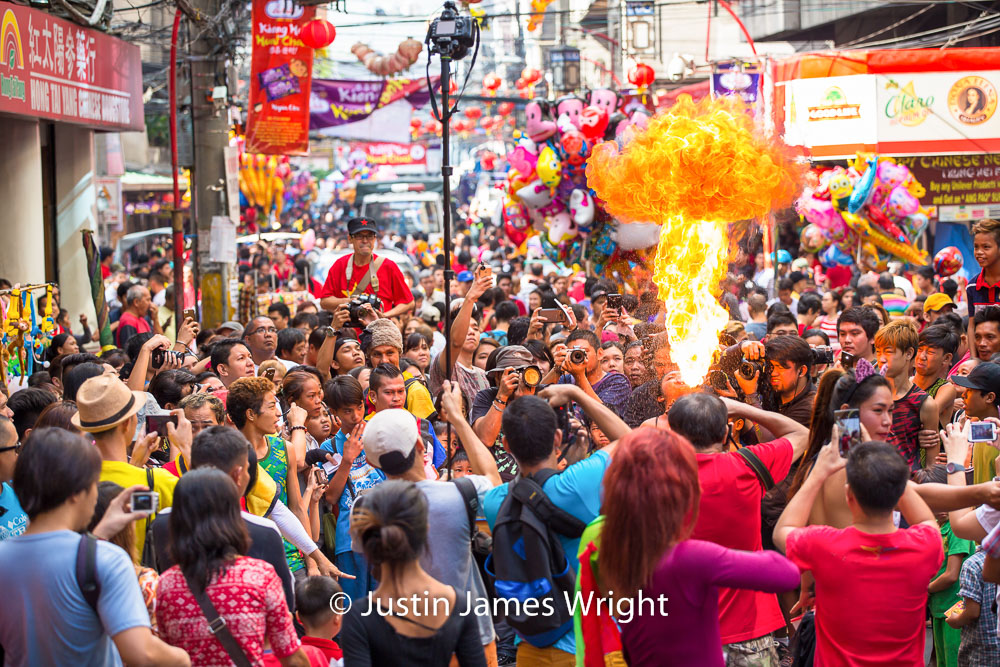 Chinese New Year Celebrations, Manila China Town, Binondo, Philippines.   Philippine Stock Photo # 4195   Purchase a License   High Resolution Editorial License   Small - Php 5,000.00   725 x 483 px (10.07 x 6.71 in)  72 dpi – 0.4 MP   Medium - Php 10,000.00   2122 x 1415 px (7.07 x 4.72 in)  300 dpi - 3 MP   Large - Php 19,000.00   5760 x 3840 px (19.2 x 12.8 in)  300 dpi – 22 MP   Details   Credit: Justin James Wright  Image # 4195  License Type: Editorial  Release Info: Not Released  If you wish to purchase the license for this image please kindly contact us via the Form below.  Please kindly include the Image Title and Image Ref # in your email, we will get back to you.