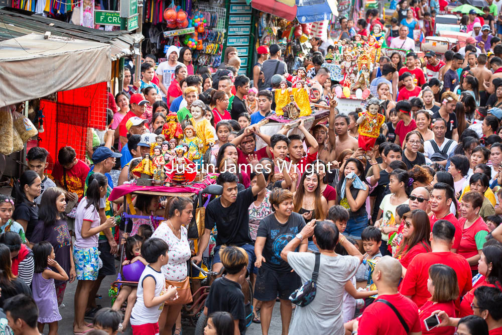 Santo Niño Celebrations, Malibay, Pasay City, Metro Manila, Philippines   Philippine Image 5289  If you wish to purchase a photography print of this image, or would like to license this image please contact us using the form below.  Please kindly include the Image Title and Image Ref # in your message, we will get back to you.