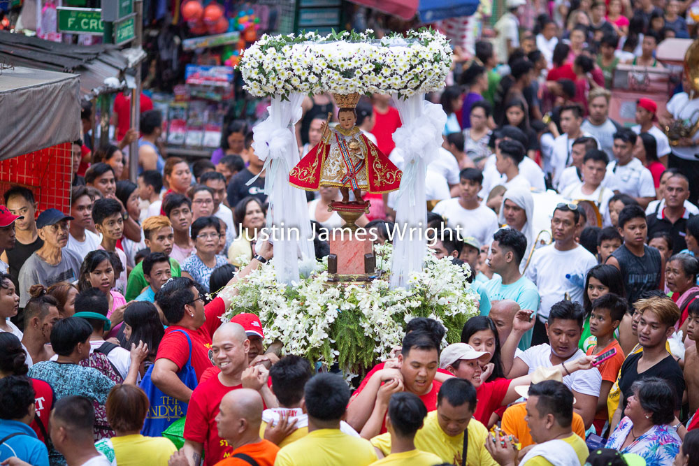 Santo Niño Celebrations, Malibay, Pasay City, Metro Manila, Philippines   Philippine Image 5293  If you wish to purchase a photography print of this image, or would like to license this image please contact us using the form below.  Please kindly include the Image Title and Image Ref # in your message, we will get back to you.
