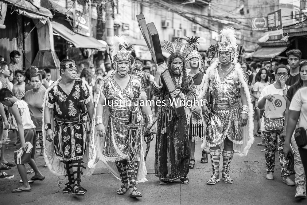 Manila Black and White Photography   Senakulo - Passion of Christ, Malibay, Pasay City, Philippines.  Philippine Image 5307  If you wish to purchase a photography print of this image, or would like to license this image please contact us using the form below.  Please kindly include the Image Title and Image Ref # in your message, we will get back to you.
