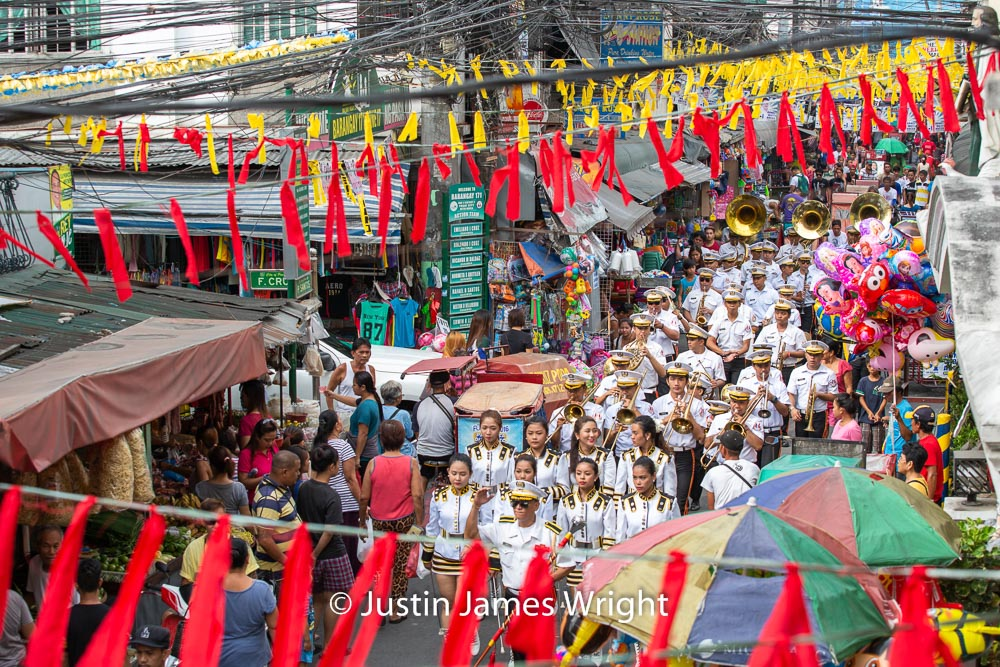 Brgy Malibay Fiesta  - May 2016  Canon EOS 5D Mk III, EF 70 - 200 mm F4L. @ F5.6, 1/320 sec.  From the Photographic Story :  A Decade on One Street.