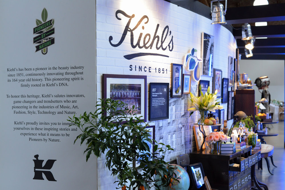 Kiehl's, Skincare, Invisible North, Anniversary, Creative, Production, Strategy, Design, Influencer, Media, Brand, Events, Experiential, Experience, Dinner, Product, Display, Pioneers by Nature