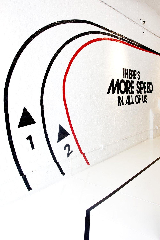 New Balance Product Launch Wall Art
