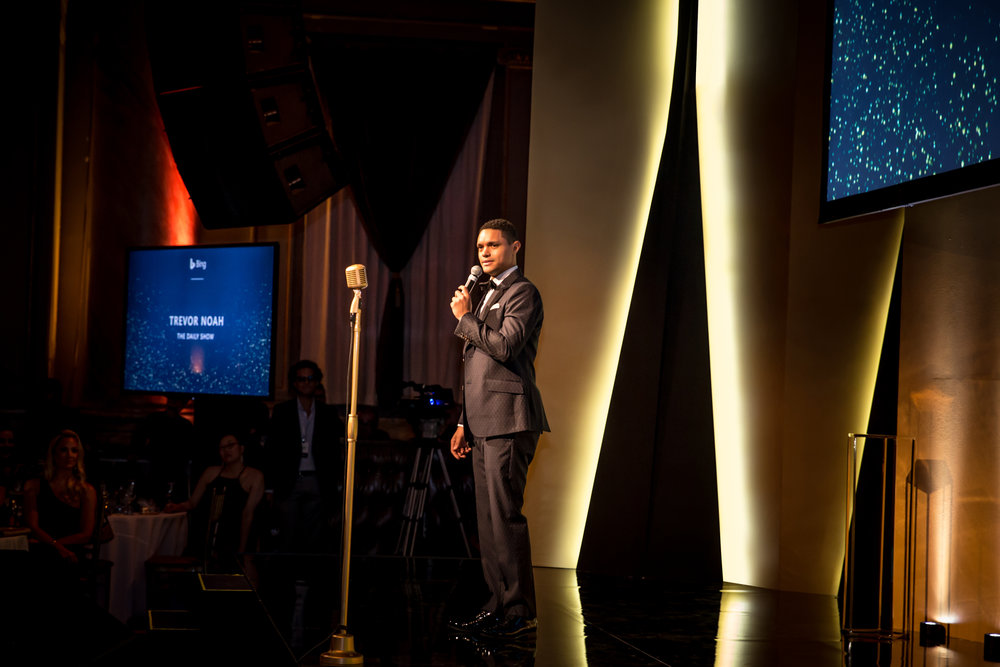Microsoft, Bing, Agency, Awards, Creative, Production, Design, Strategy, Dinner, Trevor Noah, Shine Bright, Invisible North, B2B, Awards Ceremony