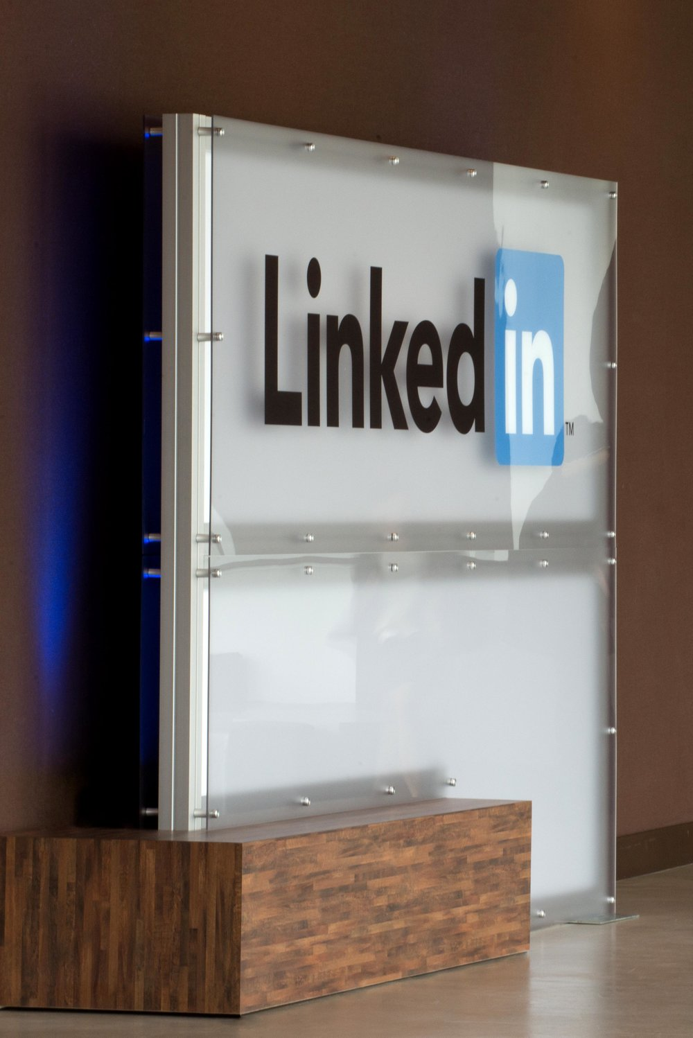 LinkedIn B2B Connect Tour Logo Display