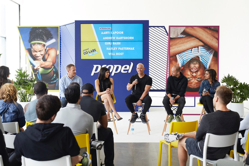 Pepsico, Propel Water, Invisible North, Co:Labs, Production Agency, Design Agency, Experiential Marketing, Brand Experience, Fitness Festival, Workout, Live Music, Los Angeles, B2C, Festival, Wellness, Fitness, Design, Production, Events, Conversations, Influencers, Trainers, Pop Up, Gym, Exercise