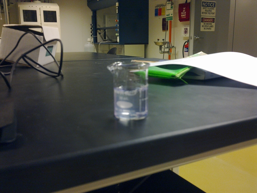 Shots anyone?, yes! thats Alcohol (pure Ethanol)