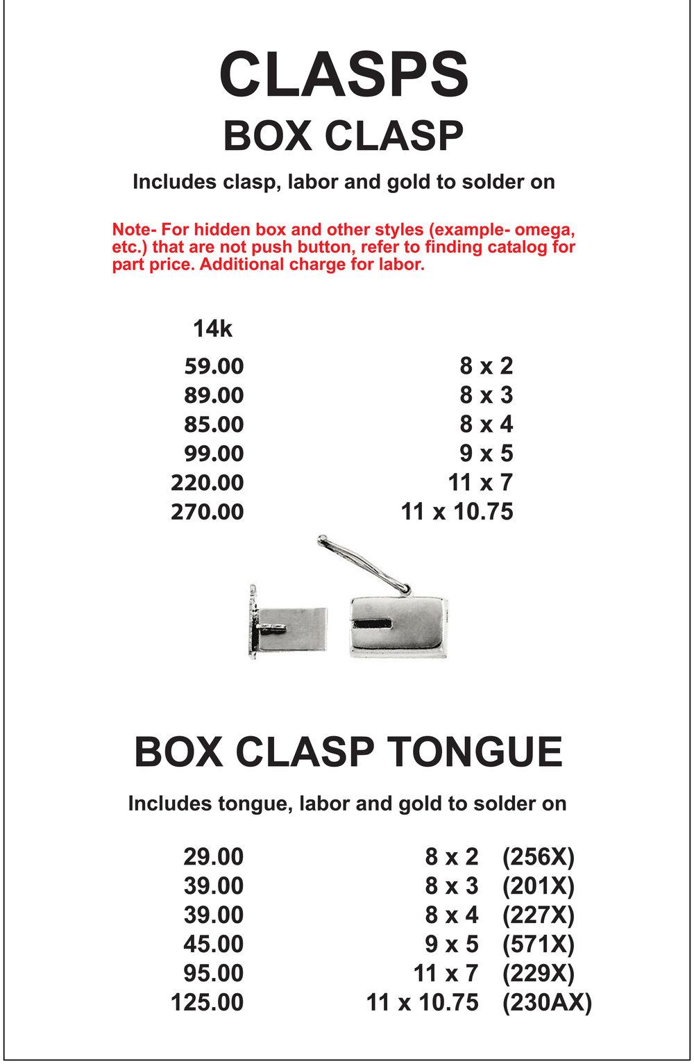 Box Clasp