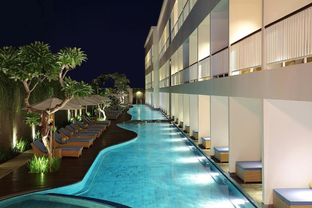 Ossotel Legian Hotel - From $90 / night Neighborhood: Seminyak Jalan Padma Utara , Bali, Indonesia