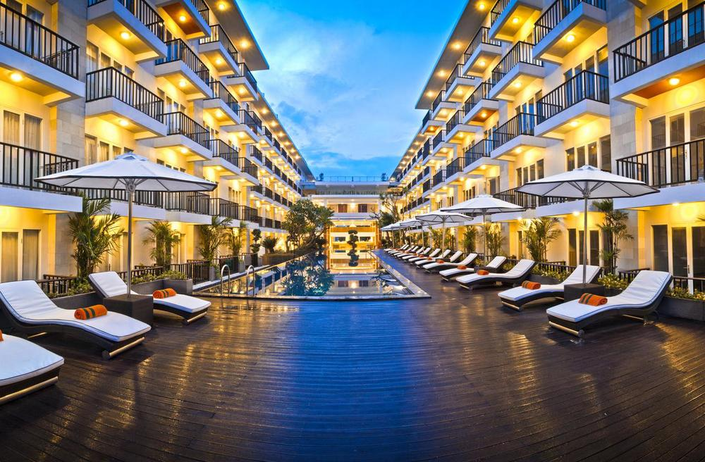 HARRIS Hotel Bukit Jimbaran - From $35 / night Neighborhood: Pecatu Jalan Raya Uluwatu 2000 X , Bali, Indonesia
