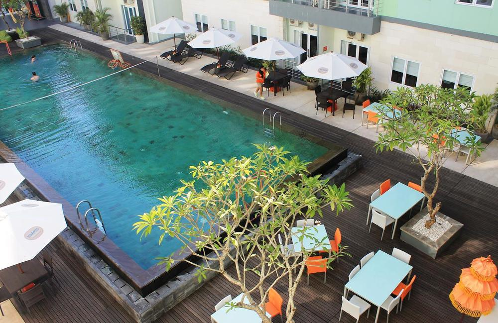 HARRIS Hotel & Residences Sunset Road - From $34 / night Neighborhood: Kuta Jl. Pura Mertasari – Sunset Road , Bali, Indonesia