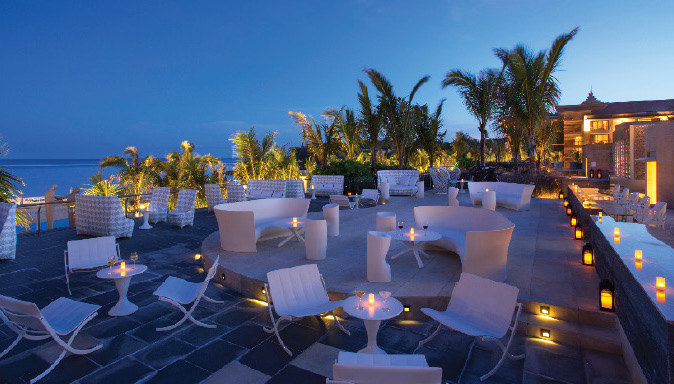 Sky Bar at The Mulia Bali