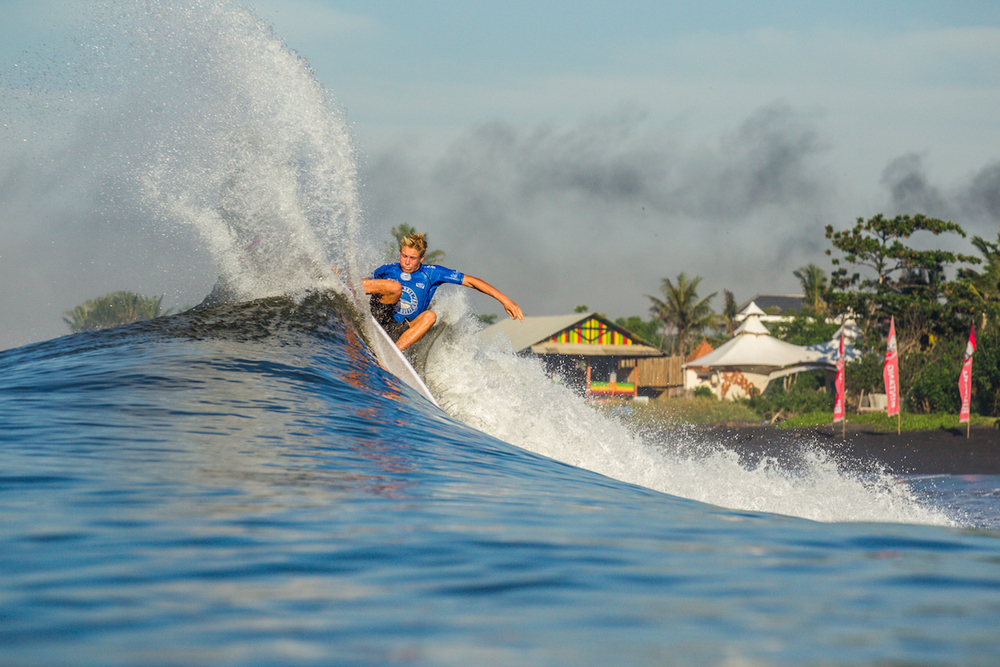 16 year old runner up Ethan Ewing showing the world he's got game.PhotoHampositive