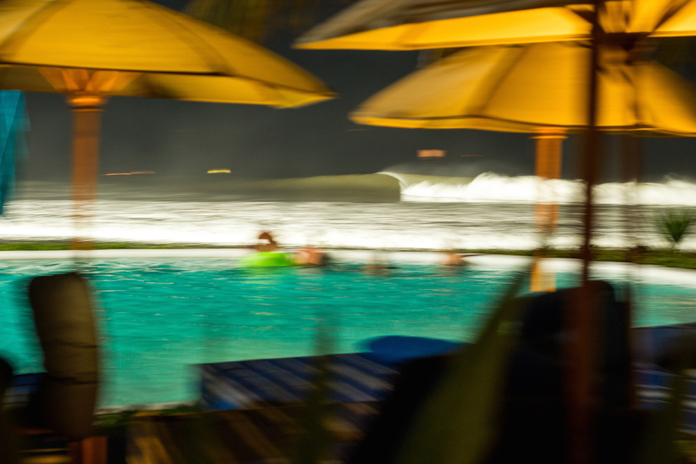 During the event, competitors had the opportunity to partake in the Komune night surfing. The waves were going off all day and all night.PhotoHampositive