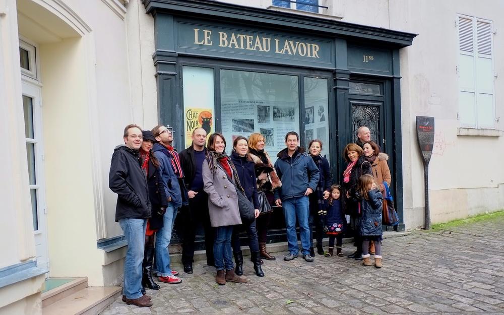Meeting at Bateau Lavoir