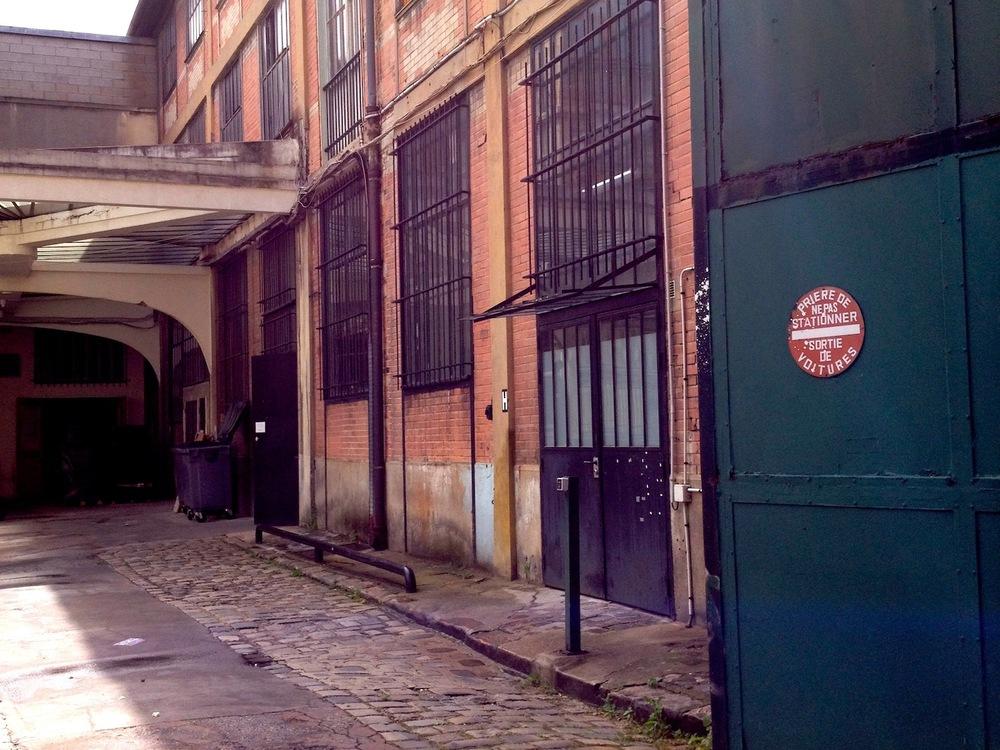 Léonard's Montreuil studio