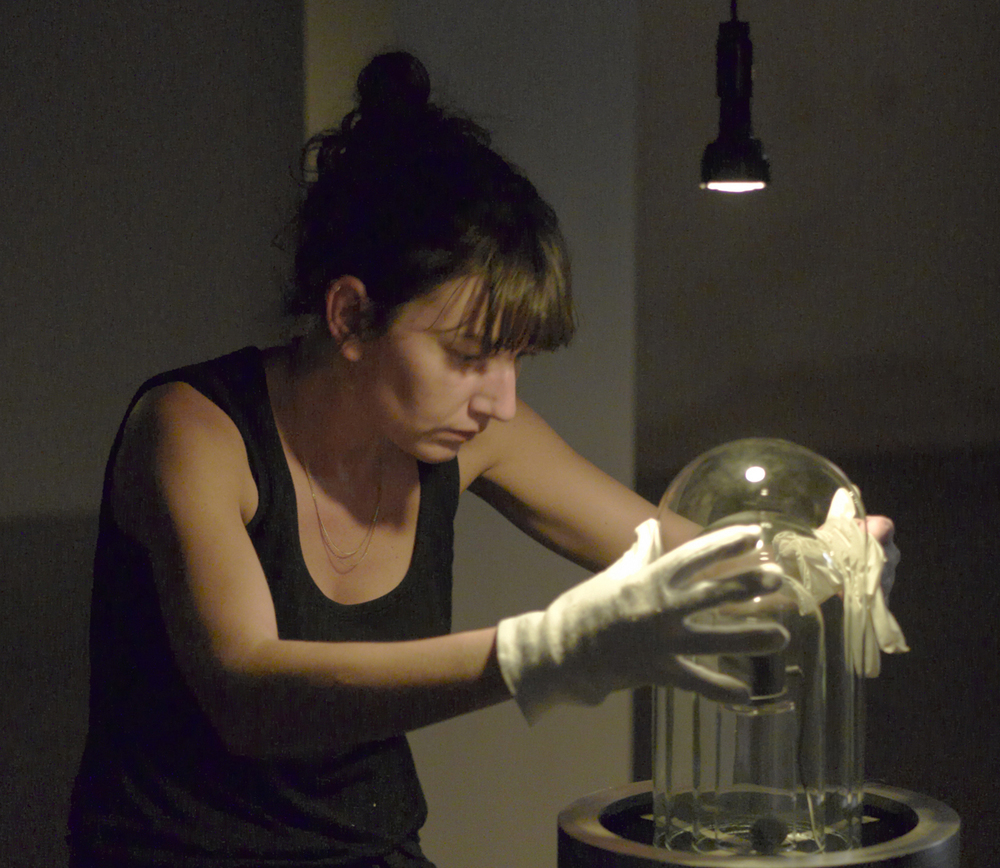 Charlotte Charbonnel at work