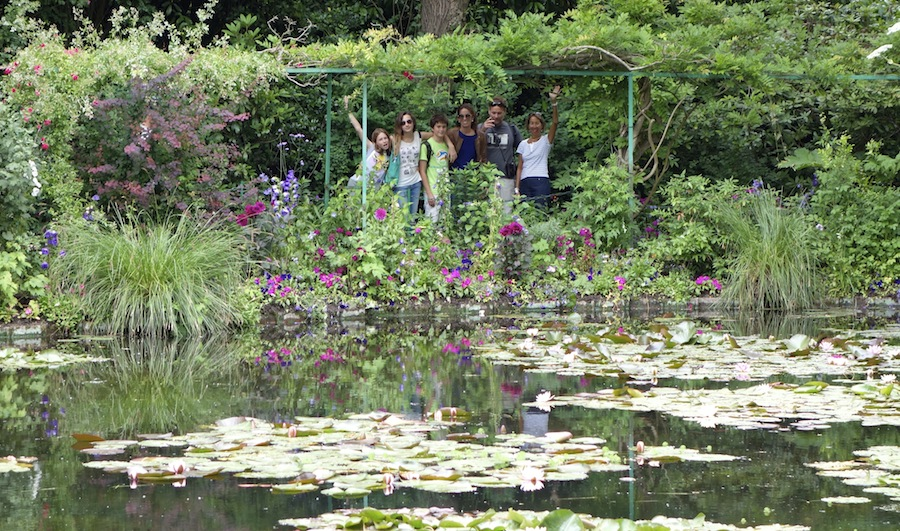 A family visit to Giverny