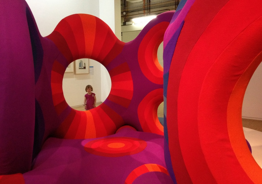 Interacting with Verner Panton at Centre Pompidou