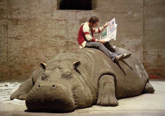 Hope Hippo, Allora & Calzadillo