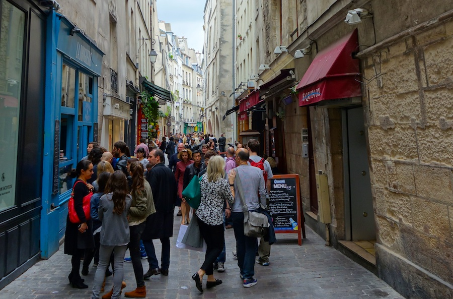 The Marais contemporary art neighbourhood