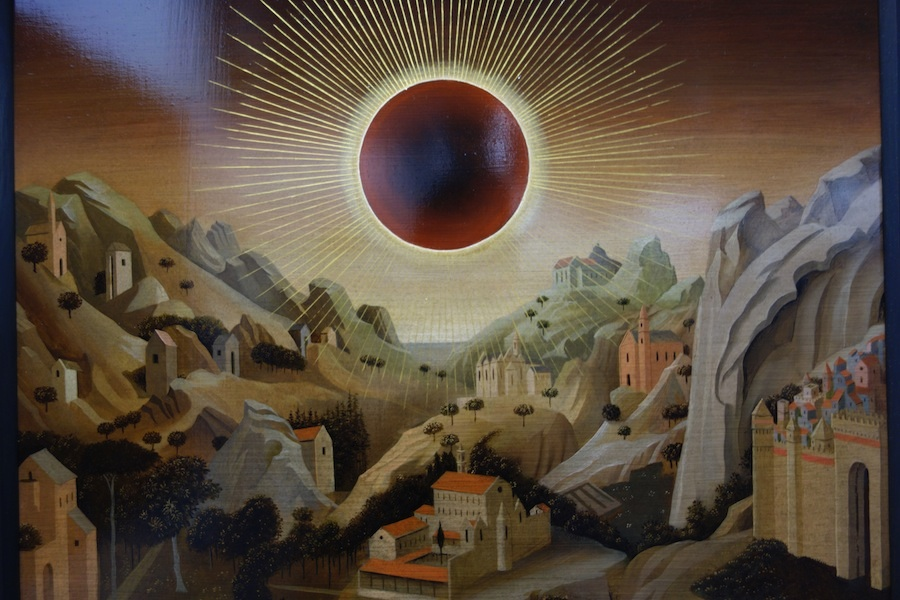 Laurent Grasso, Studies into the past