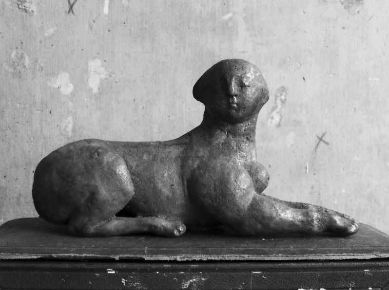 A bronze by Laëticia de Bazelaire