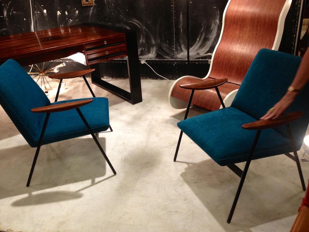 Vintage furniture at Marche aux Puces St. Ouen