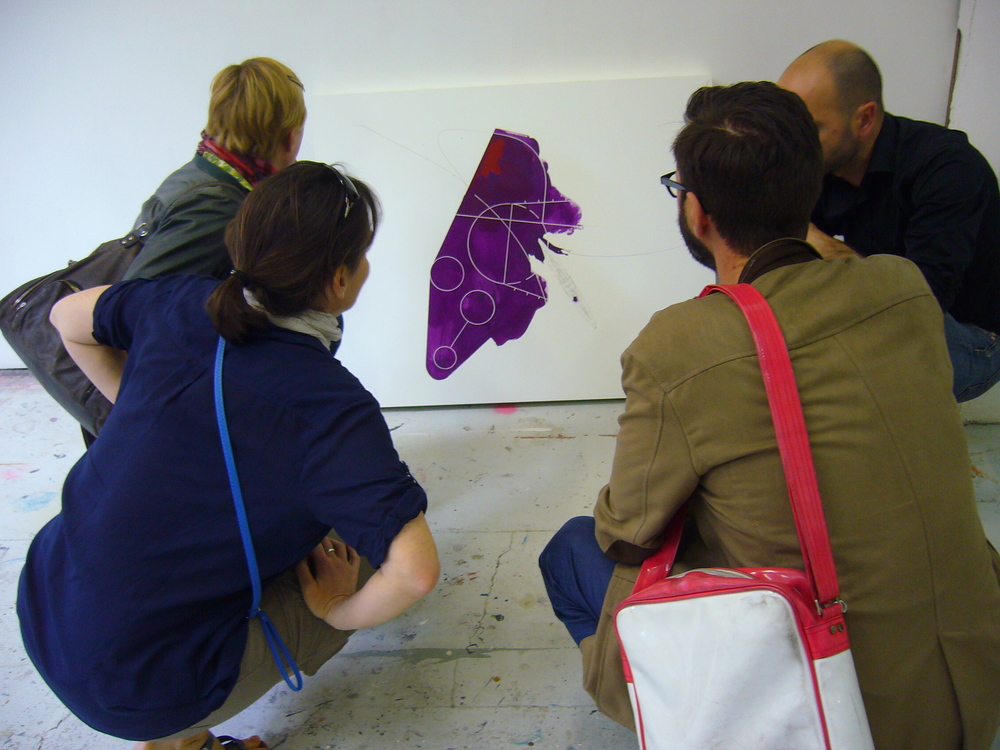 Atelier visit Franck Léonard