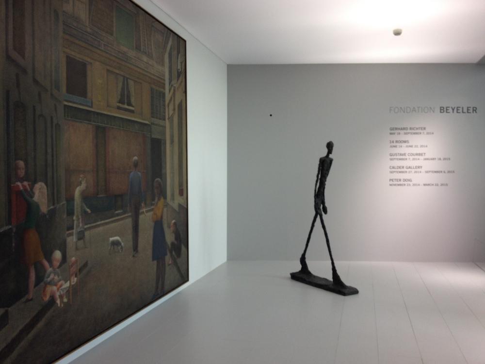 Balthus and Giacometti