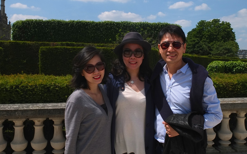 At the Tuileries gardens