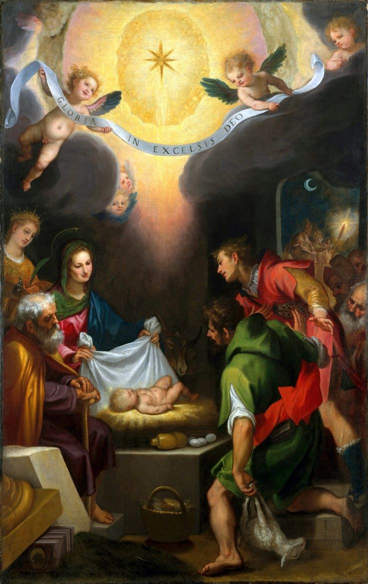 "Cigoli's ""Adoration of the Shepherds"" 1599"