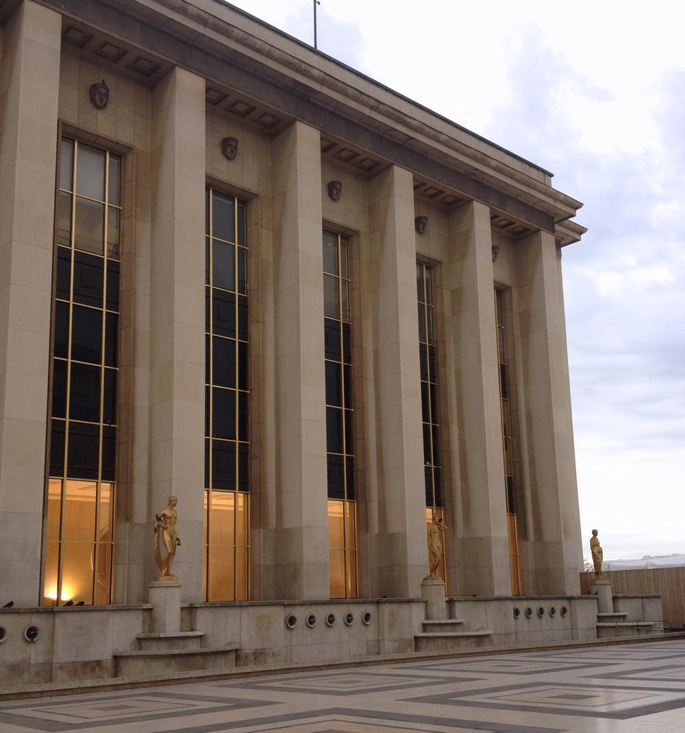 Palais de Chaillot, Trocadero