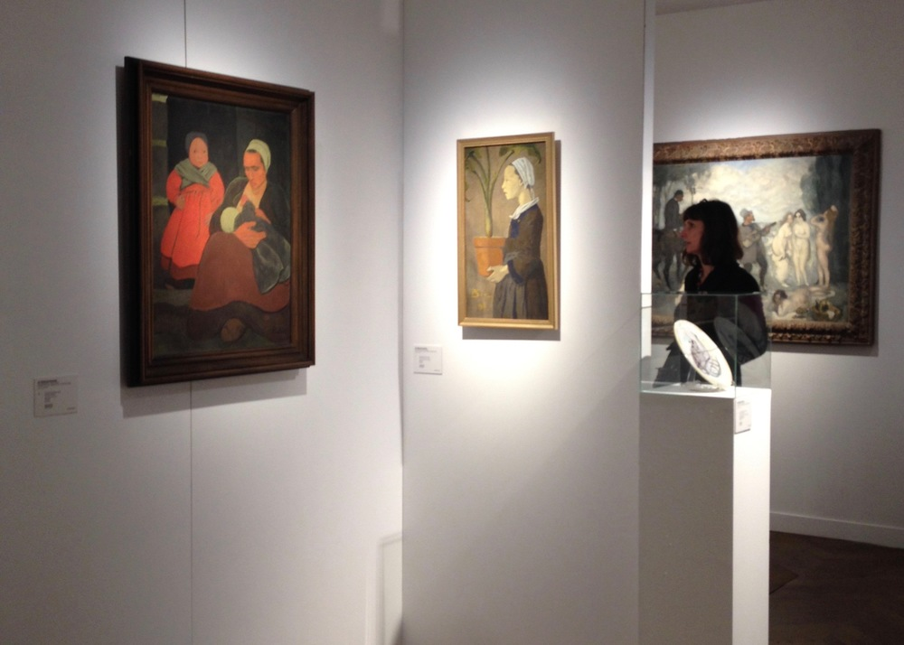 Exhibition before sale at Christie's