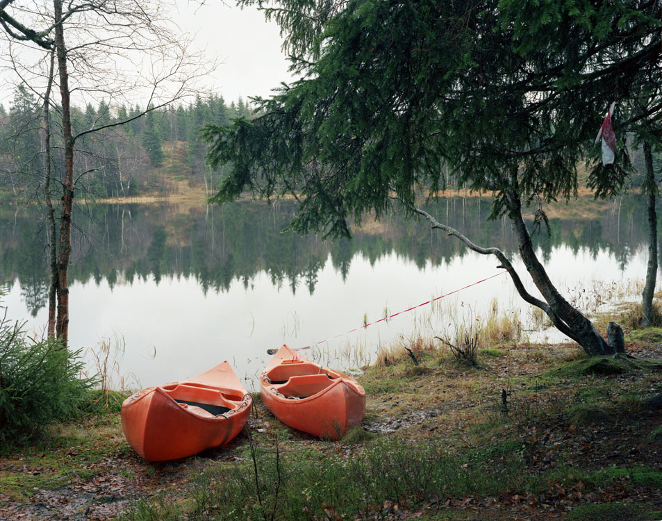 "Thomas Humery, photography, serie ""Do you want to go camping"", Oslo 2009-2013"