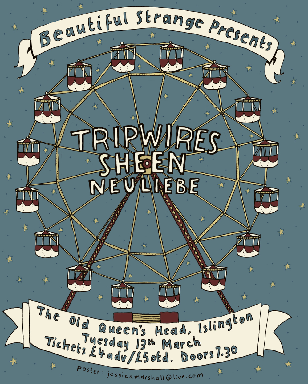 Tripwires + Sheen + Carousels