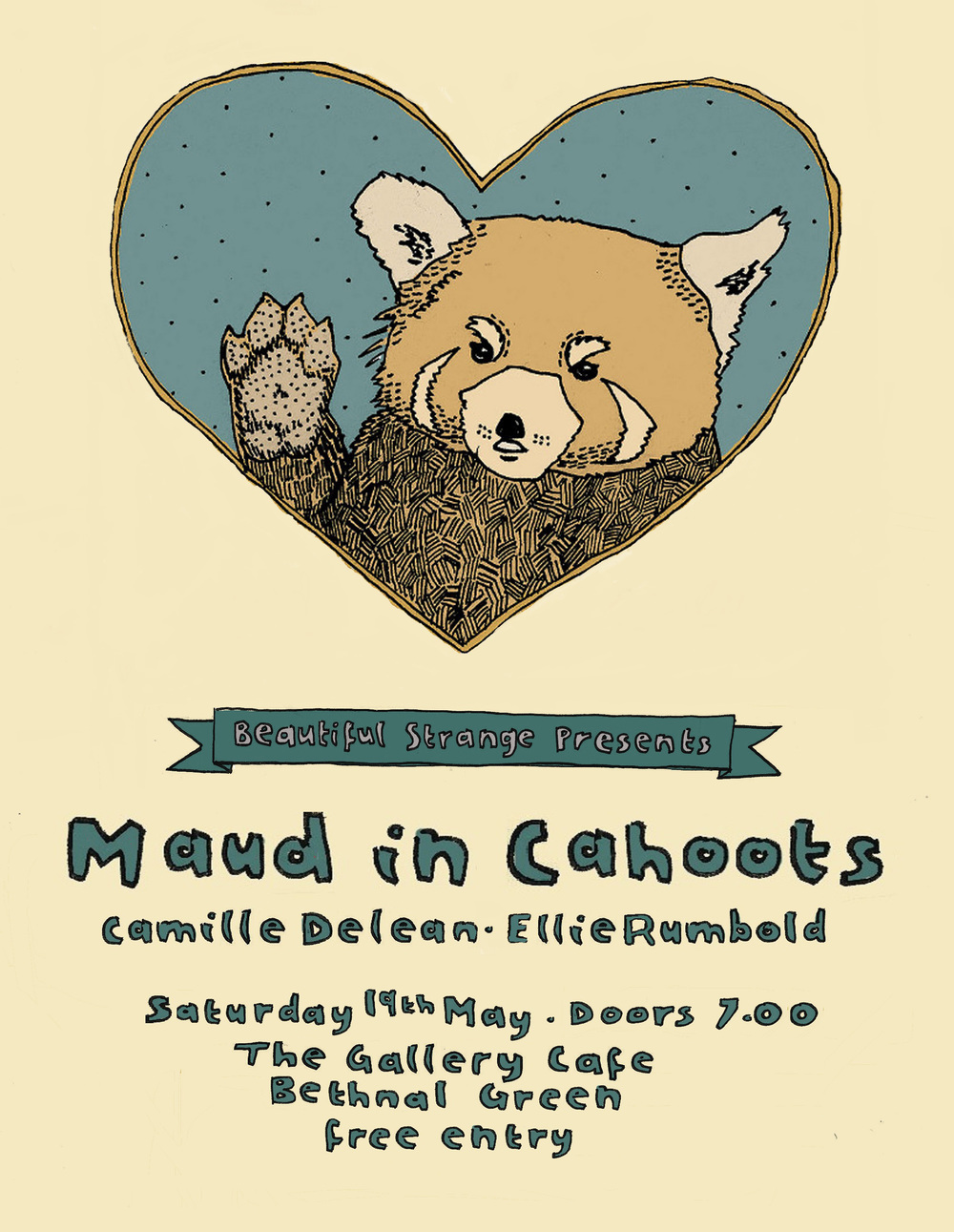 Maud in Cahoots + Camille Delean + Ellie Rumbold