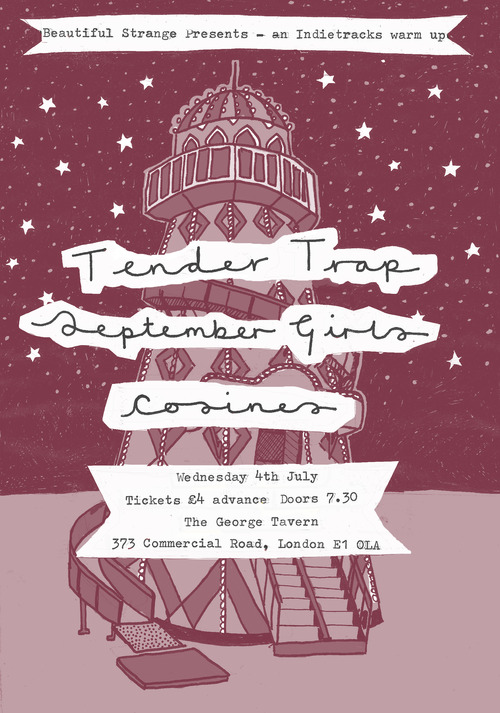 Tender Trap + September Girls + Cosines