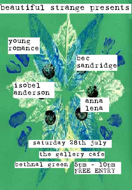 Young Romance + Bec Sandridge + Isobel Anderson + Anna Lena