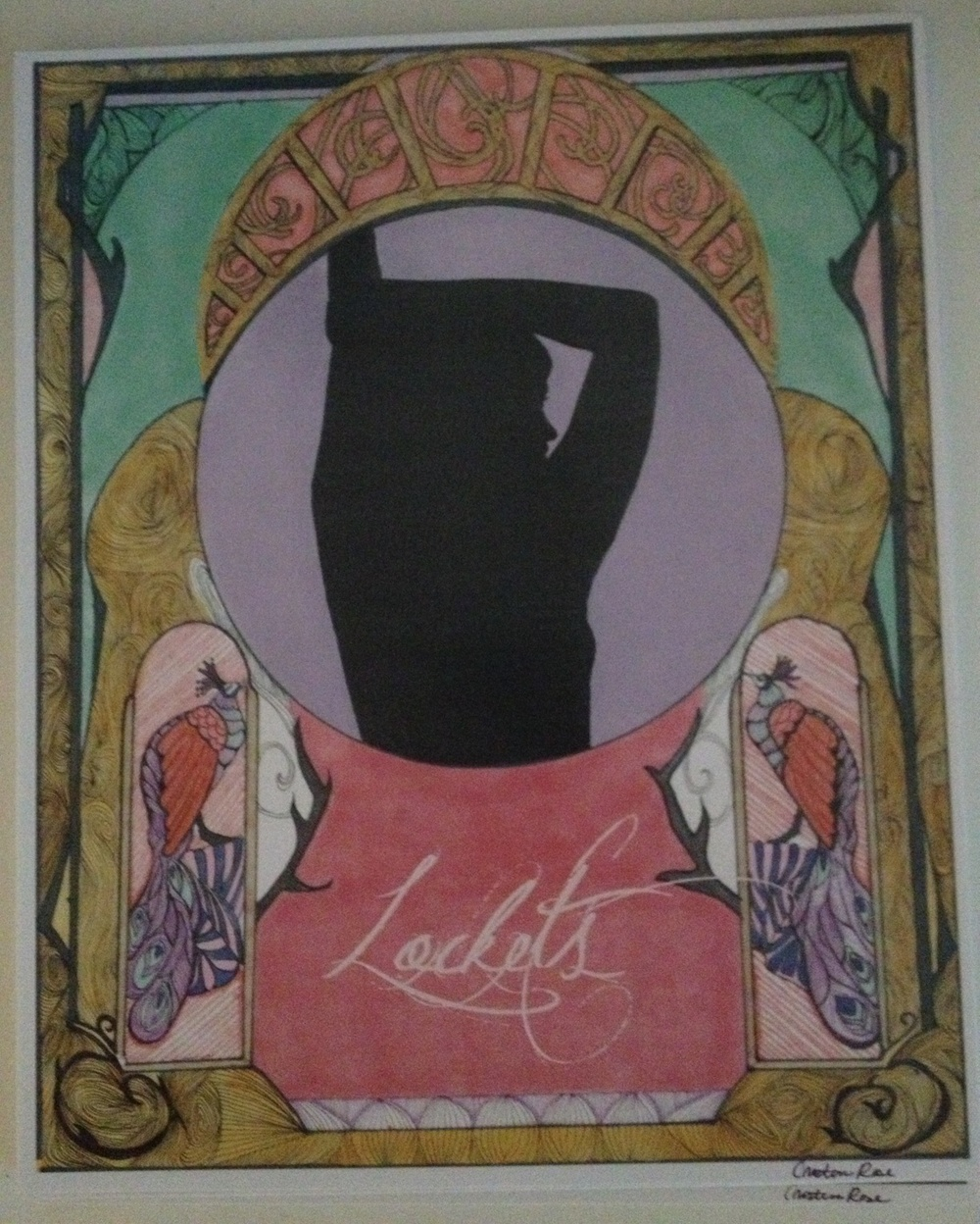 Lockets - Surrender Poster Print by Cristina Rose.