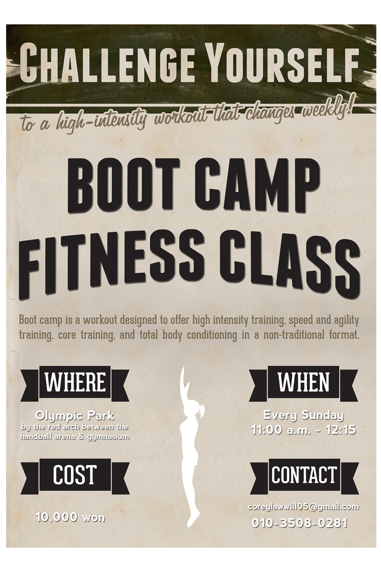 Cory's Boot Camp