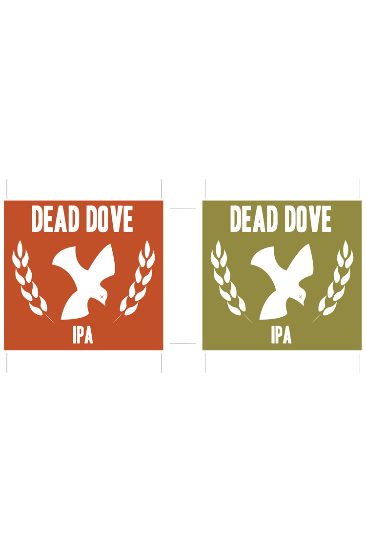Dead Dove Ale Beer Labels